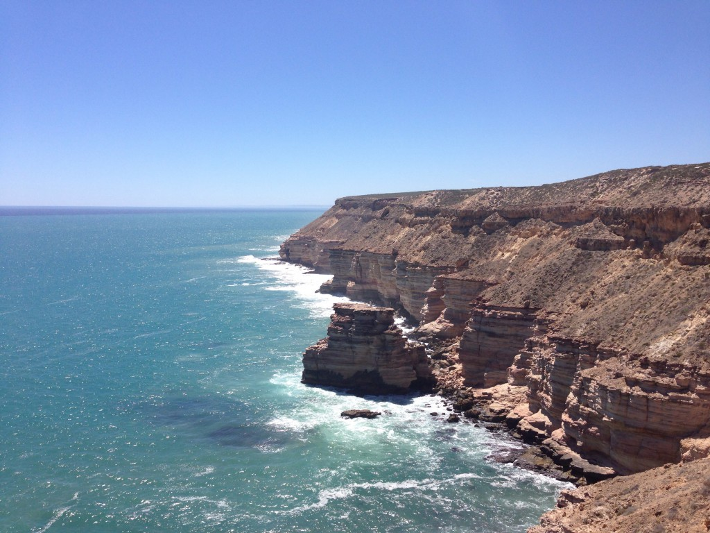 Island Rock an den Coastal Cliffs im Kalbarri Nationalpark