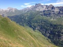 Die atemberaubende Aussicht vom Alpentower bei Meiringen-Hasliberg