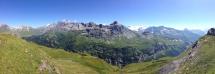 Blick vom Balmeregghorn in Tal
