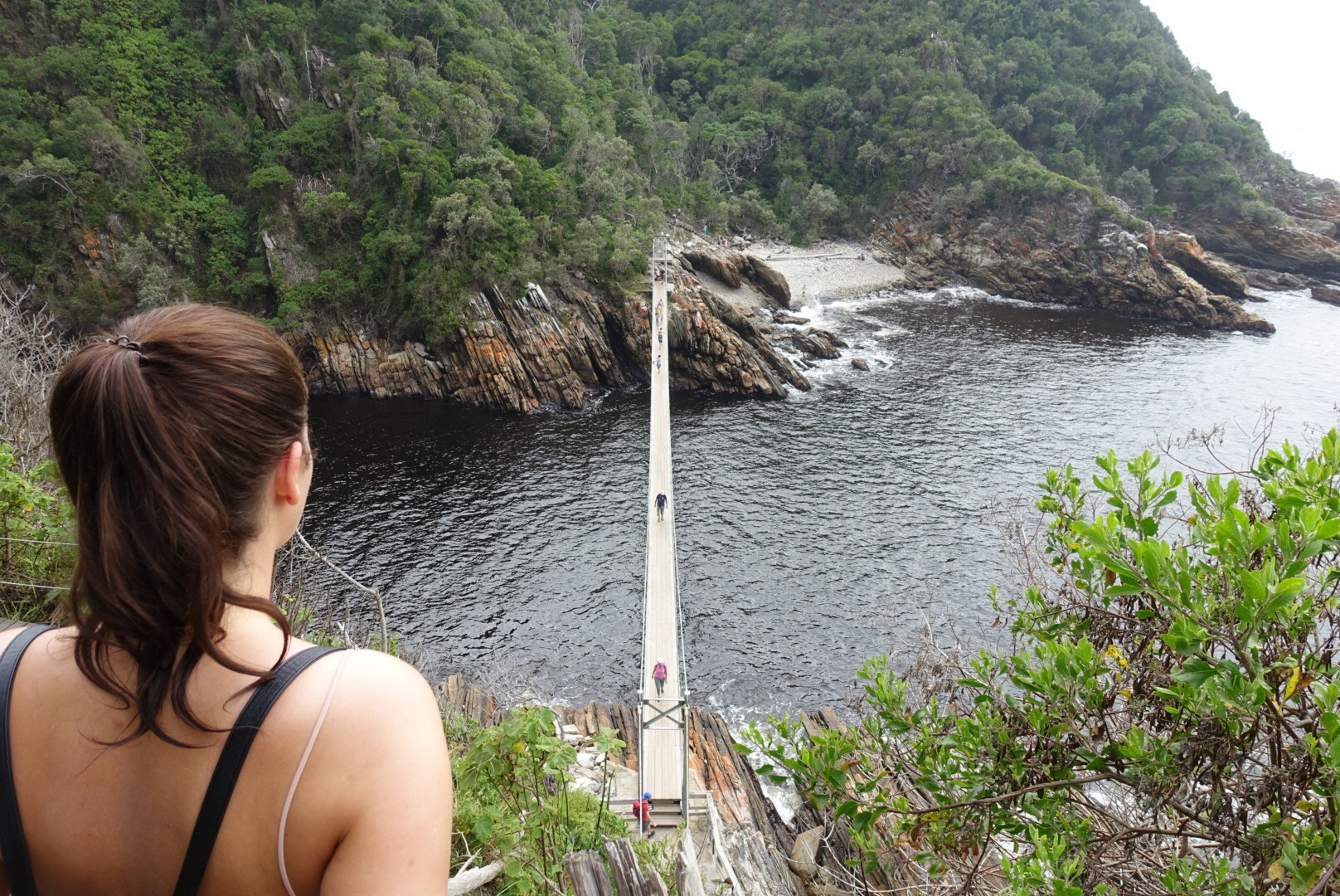 Suspension Bridge Storms River Mouth