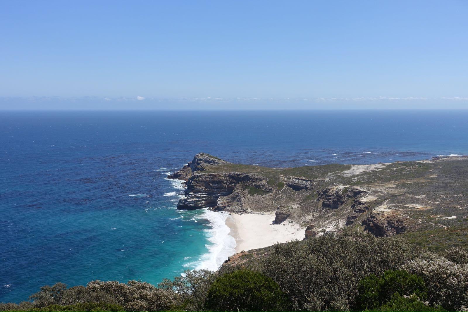 Cape Point mit Blick aus Dias Beach