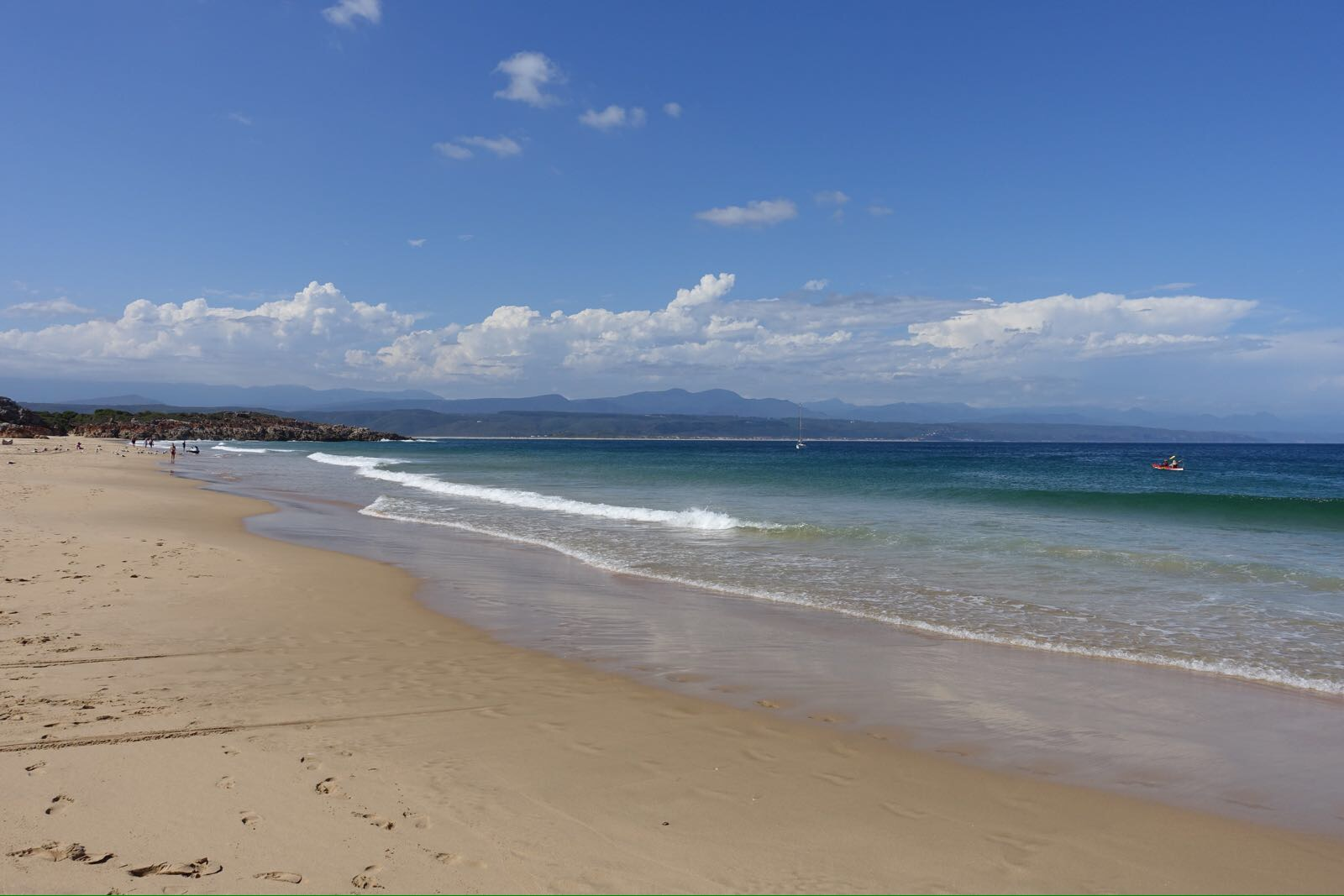 Central Beach in Plettenberg Bay