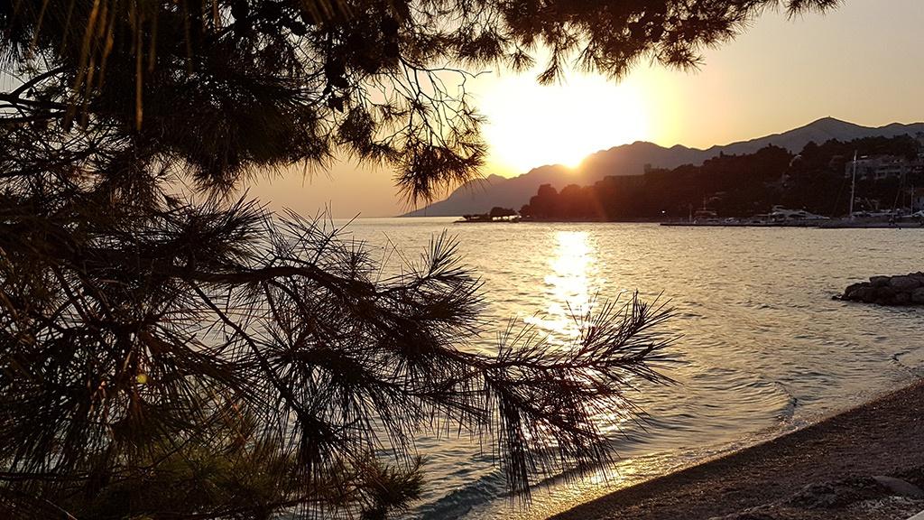 Sonnenuntergang Brela